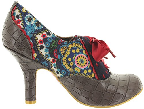 Irregular Choice , Escarpins pour femme Mehrfarbig (Blue/Multi)