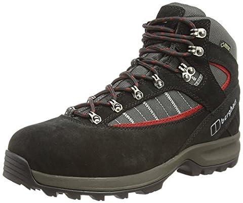 Berghaus Men's Explorer Trek Plus GTX Boot, Black (Black/Nova Red