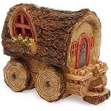 Miniatura Jardín Casa Collection–hada Wagon