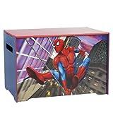 Worlds Apart 863849 Coffre à Jouets Spiderman Bleu