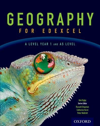 Geography for Edexcel A Level Year 1 and AS Student Book by Bob Digby (2016-08-01)