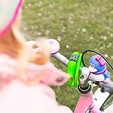 Fahrradschloss »Protector« Sicherheitsschloss / Zahlenschloss als Basisabsicherung bei niedrigem Diebstahlrisiko /ca. 70 cm lang, Durchmesser ca. 25 cm, Stärke ca. 3-4mm / erhältlich in 5 Farben (navyblau, pink, grün , rot, schwarz & himmelblau) daher ideal auch als Kettenschloss für Kinderfahrräder / grün -