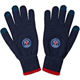 Paris Saint-Germain Herren-Handschuhe, offizielle Kollektion, Erwachsenengröße Small / Medium blau