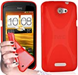 Cadorabo - TPU X-line Style Silikon Hülle für HTC ONE S -