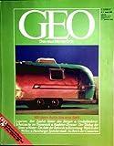 GEO Magazin 1985, Nr. 01 Januar - Mit dem Auto bis ans Bett, Ligurien, Motels, Grabraub, Wetter, Kelp-Wald, Speicherstadt
