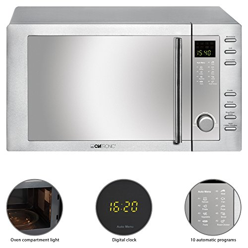Clatronic MWG 775 H Combined Microwave Oven with Grill and Convection