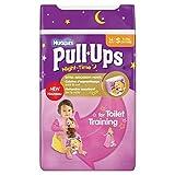 Kleine Huggies Pull-Ups Nachtzeit 8-15kg Girls 14 pro Packung