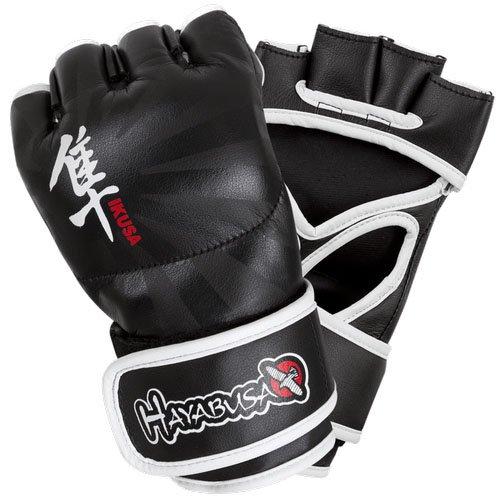 Hayabusa Ikusa MMA-Handschuhe für Herren, Herren, Schwarz (Ufc-offizielle Handschuhe)
