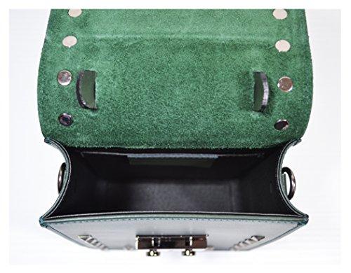 Millennium Star - Petite bag borsa da donna Made in Italy Verde