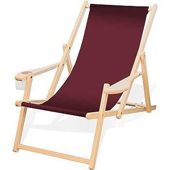 Klappliegestuhl ikea  Amazon.de: Deckchair Sonnenliege Liegestuhl Strandstuhl Stuhl ...