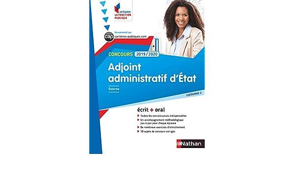 98b3af940d3 Adjoint administratif d État - Ecrit + Oral - Catégorie C - Concours 2019-2020  (CONCOURS ADMINISTRATIFS t. 2) eBook  Stéphane Gachet