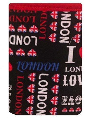 Noir Londres Imprimer Chaussettes Apple pour iPod - Apple iPod Touch