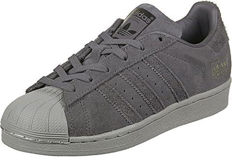adidas Superstar J, Chaussures de sport mixte enfant - gris - Gris (Gricin / Neguti / Dormet), 38 EU