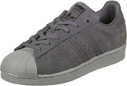 adidas Superstar Junior Grey Five BZ0355, Turnschuhe - 38 2/3 EU (Adidas Superstar Kinder)