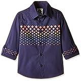 Nauti Nati Baby Boys' Shirt (NSS16-634_Blue_1Y)