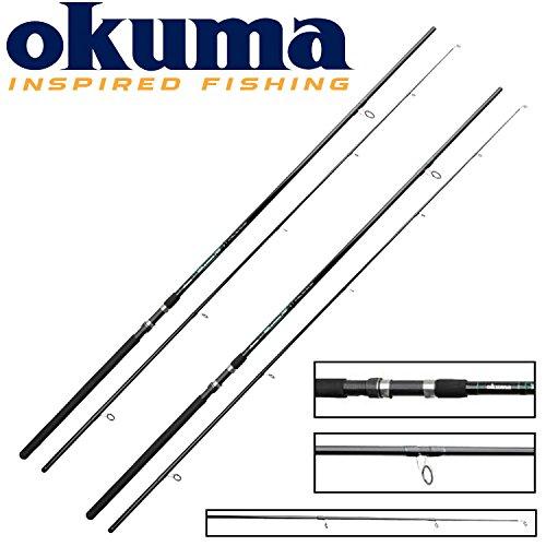 2 Okuma G-Force Pike 330cm 2,75Lbs Hecht- und Karpfenruten, Hechtrute, Karpfenrute, 2-teilige Allroundrute, Steckrute