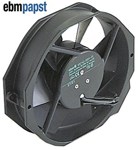 ebm-papst 7056ES Axiallüfter für Kombidämpfer Rational CM201, CM102, CM202, CPC201, CPC102 27/28W 230V AC 50/60Hz Metall 55°C