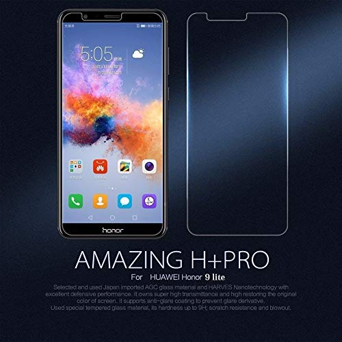 JGD Products 9H Hardness 2.5D HD clearance flexible tempered glass for Honor 9 lite with free installation Kit