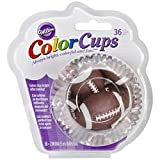 Wilton Colorcup Standard Baking Cups-Football 36/pkg