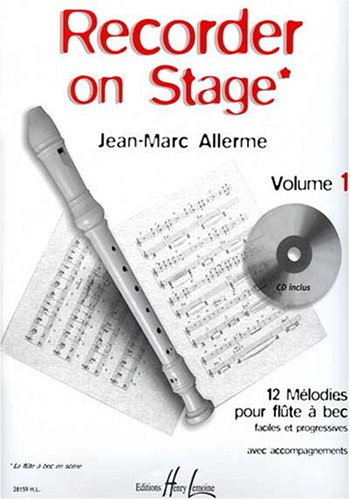 Recorder on stage Volume 1