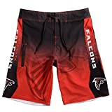 Forever Collectibles klew NFL Atlanta Falcons Farbverlauf Board Shorts, Herren, Atlanta Falcons Gradient Board Short Medium 32, Atlanta Falcons, Medium