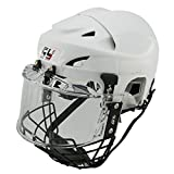 GY SPORTS Casco de hockey para niño &adulto ,hockey sobre hielo con...