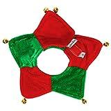 Haustierkragen Urijk Weihnachten Hundehalsband Hund Krawatte Einstellbare Weihnachten Haustier Hund Katze Fliege Kragen mit Glocke