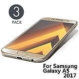 Aribest Galaxy A5 2017 Panzerglasfolie - 3 Stück, Panzerglas Schutzfolie Für Samsung Galaxy A5 2017,Ultra-klar 9H Härte, HD Klar, Anti-Öl, Anti-Kratzen, Anti-Bläschen, 3D Touch Kompatibel
