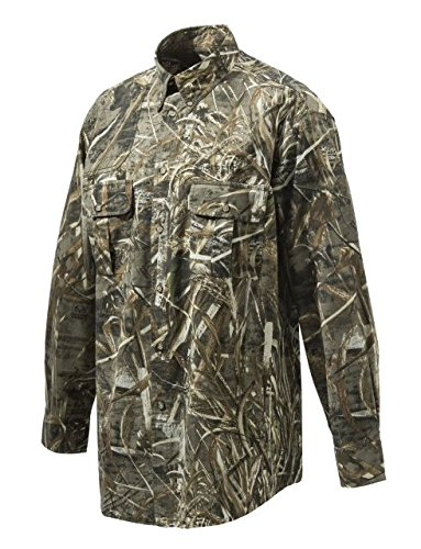 Beretta Team Shooting Shirt L/S, AP Xtra, XXXL, Herren, TM Shooting Shirt L/S - MAX 5 M, MAX 5, Medium -