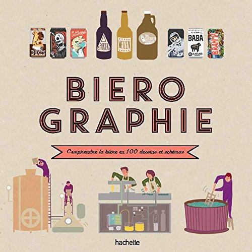 Biérographie: Comprendre tout l'univers de la bière en un clin d'œil par Elisabeth Pierre