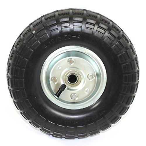 Preisvergleich Produktbild Ersatz-Rad - Luft-Reifen - Kugellager - Sackkarren Bollerwagen Ø 260 mm 4.10/3.50-4