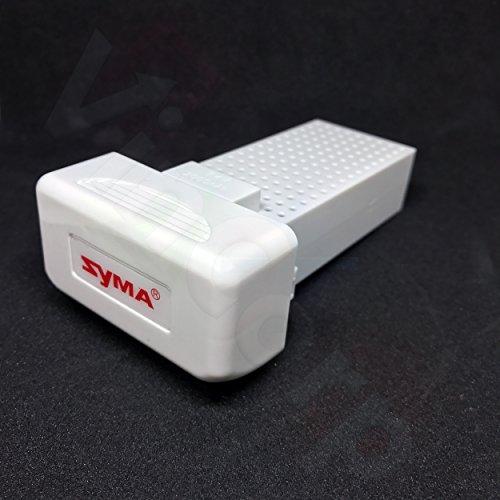 SYMA Batterie Battery Li-Po Lipo 7.4V 2000mAh Akku Barrels für X8SC X8SW X8 Pro Drohne Quadrocopter Quadcopter Headless Configuration Drone Restoration Less by