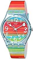 Reloj Swatch GENT de mujer de cuarzo con correa de plástico multicolor - sumergible a 30 metros de Swatch
