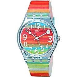 Swatch Reloj Analógico de Cuarzo para Mujer con Correa de Plástico – GS 124