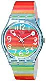 Swatch Damenuhr Analog Quarz mit Plastikarmband - GS 124