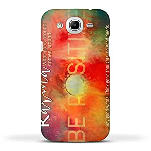 FUNKYLICIOUS Samsung Mega 5.8 Back Cover KARMA Design (Multicolour)