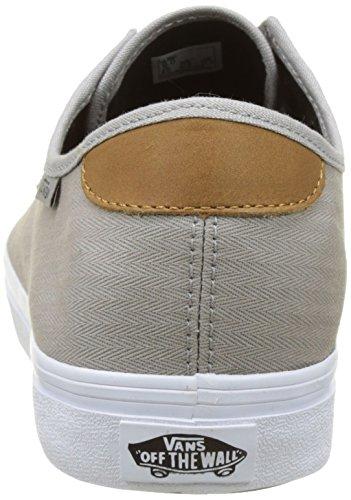 Vans Mn Michoacan Sf, Sneakers Basses Homme Gris (Herringbone Twill Drizzle)
