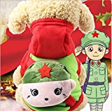 YAMEIJIA Dog Clothes, Cute Coin Bag Cartoon Sweater, Autumn And Winter New,D,XXL