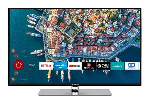 Hitachi F32L4001 81 cm (32 Zoll) Fernseher (Full HD, Smart TV, Prime Video, Alexa-ready, Bluetooth, Triple-Tuner, PVR)