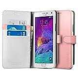 Best Spigen Galaxy Note 4 Screen Protectors - Spigen Case Wallet S Azalea Pink for Galaxy Review