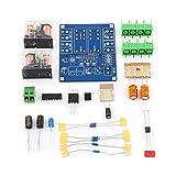 12-24V Dual Relais 7812 UPC1237 Audio Lautsprecher Schutzbrett Board Modul DIY Kit für HIFI