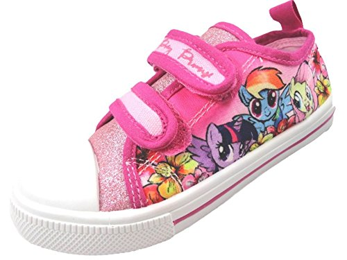 b4e974c715  My Little Pony  Girls Printed Canvas Pump Trainer Soft Touch Fastening  Shoes (UK 7) - Buy Online in Oman.