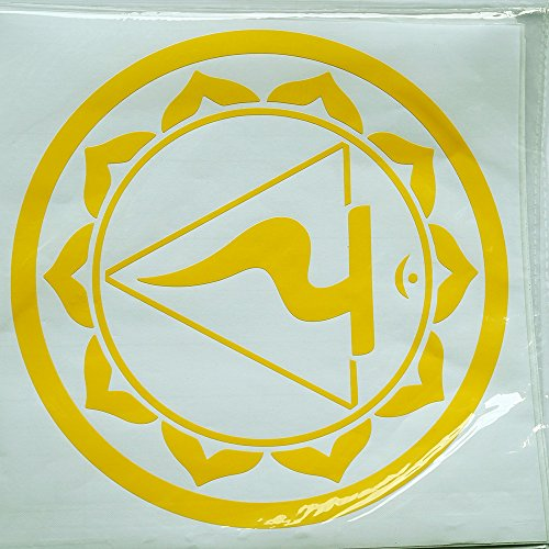 7 CHAKRA Wandklebefolie Wandtattoo Sticker Aufkleber – Meditation Yoga Spiritualität Esoterik Energie