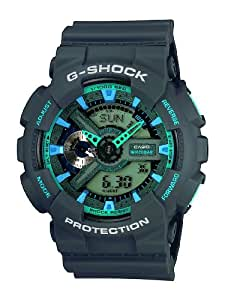 Casio G-Shock - Herren-Armbanduhr mit Analog/Digital-Display und Resin-Armband - GA-110TS-8A2ER