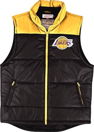 Los Angeles Lakers Mitchell & Ness NBA Winning Team Throwback Snap Vest Jacket Test