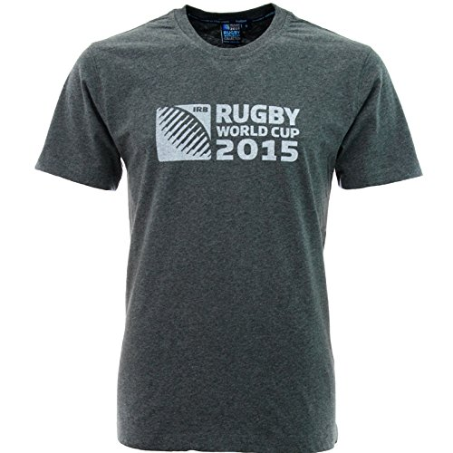 Canterbury Rugby World Cup Men's T-Shirt Logo grau - Grey Marle