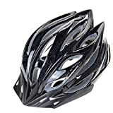 MGIZ Erwachsene Ultra Light Weight-Fahrradhelm für Fahrradfahren Sicherheit in mittlerer Größe, einstellbar leichte Mountainbike Rennradhelme für Männer und Frauen schwarz
