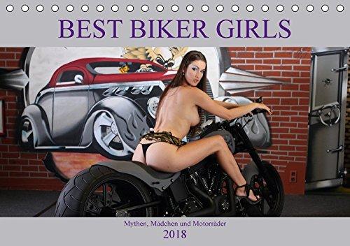 Best Biker Girls (Tischkalender 2018 DIN A5 quer): Mythen, Mädchen und Motorräder (Monatskalender, 14 Seiten ) (CALVENDO Mobilitaet) [Kalender] [Jan 17, 2017] Comandante, Andreas