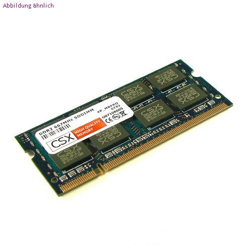CSX-MEMORY: 2GB DDR2 SODIMM, 667MHz, 200 Pin (passend für MacBook Pro, MacBook, Intel Core 2 Duo) Macbook Core Duo