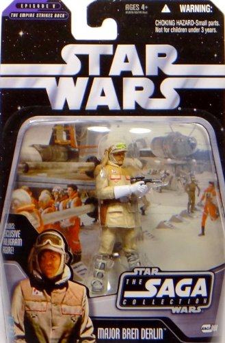 Major Bren Derlin Battle of Hoth TSC008 - Star Wars The Saga...
